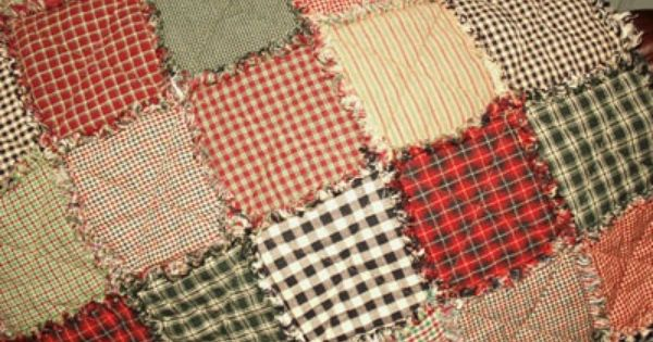 Rag Quilt Instructions Plus A Chart For Different Square