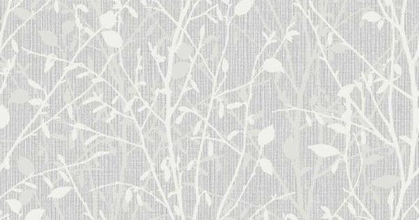 Hallway Bathroom Or Kitche 312223 Bosco Silver Wallpaper B M Evler