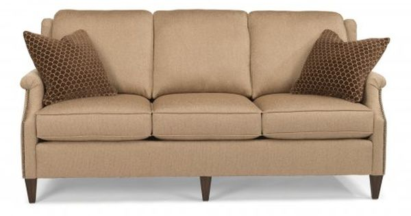 Zevon Fabric Sofa By Flexsteel Via Flexsteelcom