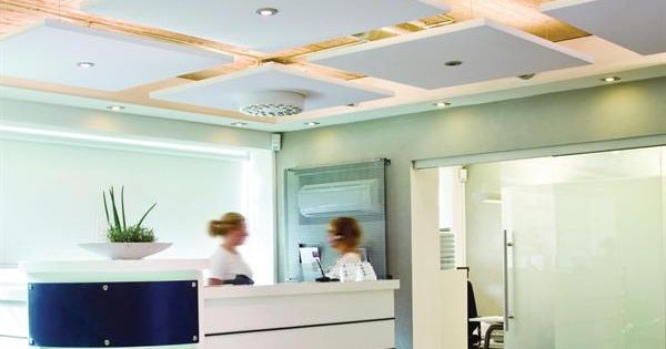 Ecophon Master Solo S suspended ceiling panels from
