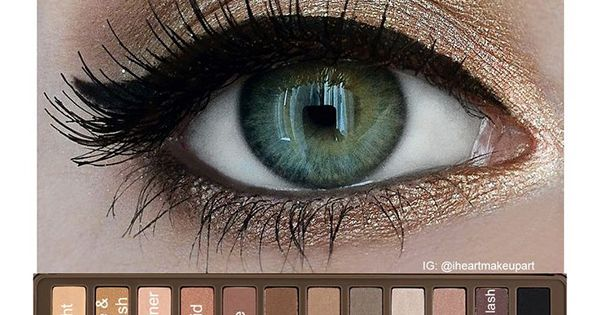 12 Easy and Pretty Ideas For Hazel Eyes | I just so happen to have this NAKED pallet!