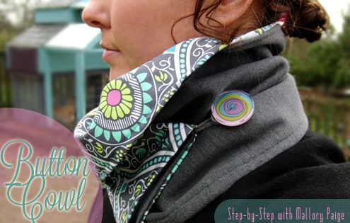 Follow this tutorial to make a beautiful, reversible cowl. Keep warm, while