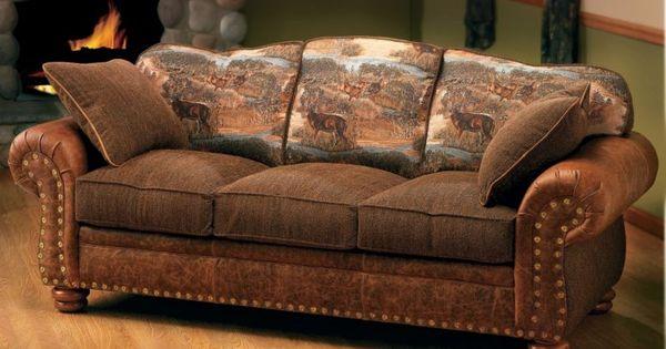 Cabela S Marshfield Furniture Deluxe Rustic Retreat