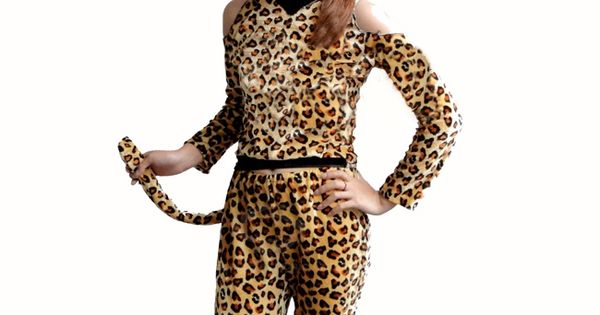 Sexy Leopard Print Catwoman Halloween Cosplay Costume For Women Leopard Leopard Leopard