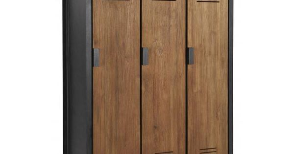 locker #lockerkast #kast #teakhout #metaal #industrieel #vintage ...