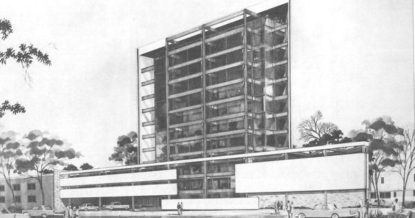 Perspectiva edificio del colegio de arquitectos de m xico - Sociedad de arquitectos ...