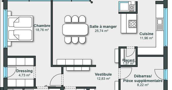 plan maison weberhaus. Black Bedroom Furniture Sets. Home Design Ideas