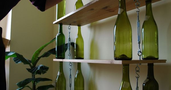 14 brilliant ways to use your empty wine bottles for Creative ideas for empty wine bottles