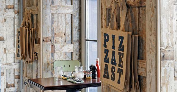 Rustic wood wall panelling by martin brudnizki design