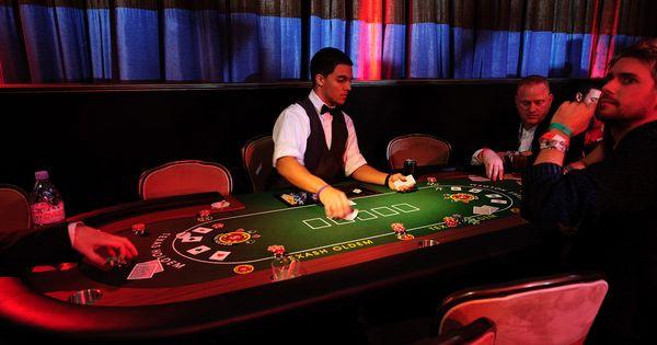 Blackjack party pit