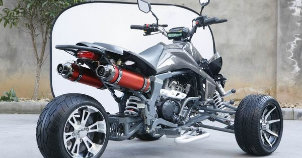 Three Wheels Atv Quad Bike Reverse Trikes Pinterest