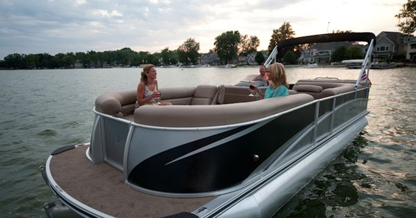 Premier pontoon boats dealers and manufacturers for new for Personal fishing boat