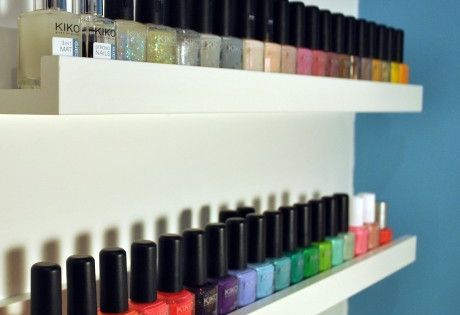 nail polish organization... Now just need to find room for this :)