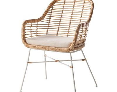 Armlehnenstuhl Garston Esstisch Stuhle Modern Korbstuhle Sitzkissen Stuhl