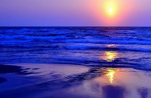 Beach sunset ~ Dreamy Nature