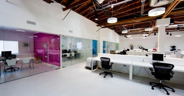 Exposed Ceiling and Open Plan Office #openplanoffice Cubicles.com | Open Plan Office | Pinterest ...