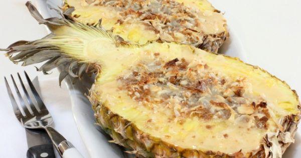 Gratin Pineapple