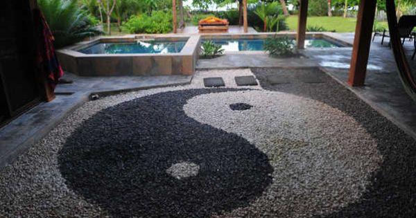 Confeccionalo t misma yin yang con piedras feng shui for Jardin yin yang