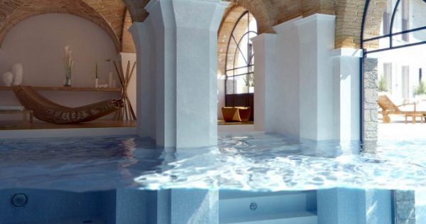 a really cool idea for a swimming pool in my dream house...