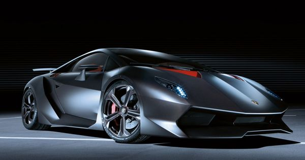 Lamborghini's Sesto Elemento (Italian for Sixth Element); made pretty much entirely of