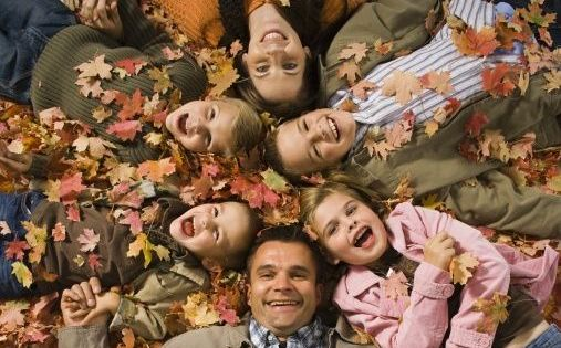 Ideas Fall Outdoor Family Portraits