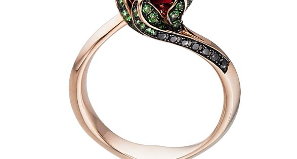 I LOVE LOVE LOVE THIS Tomasz Donocik Water Lilly Pad Ring in