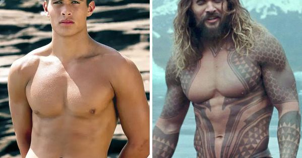 Here S How 30 Well Known Actors Looked In Their First And Latest Movie Roles In 2020 Actors Jason Momoa Baywatch Good Looking Men