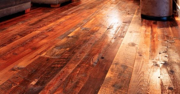 Love The Rustic Yet Classy Look Of This Barn Wood Flooring