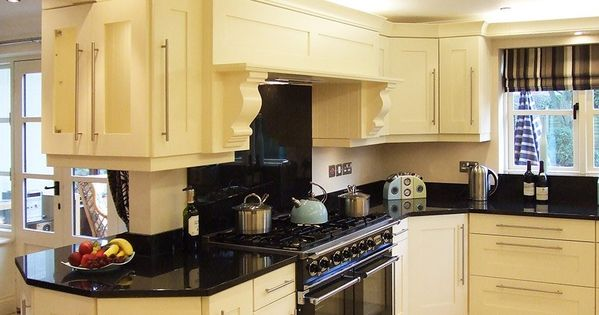 Cream Kitchen Cabinet Black Granite Countertop Cream Kitchen Cabinets Ideas Affordable Kitchen Cabinets Shaker Kitchen Cabinets Yellow Kitchen