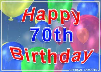 70th Birthday Images At Birthday Graphics Com Happy 20th Birthday Happy 25th Birthday Kids Birthday Cards