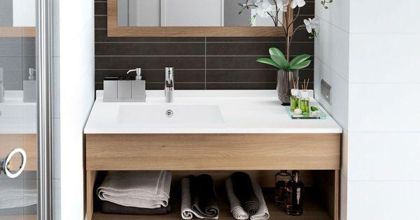 Meuble Salle Bain Bois Design Ikea Lapeyre Bath