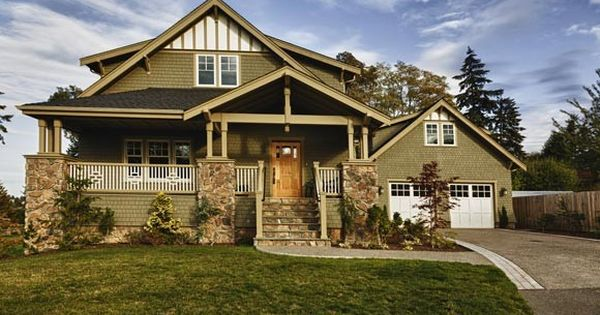 Craftsman style a craftsman typically has broad roof Craftsman style gables