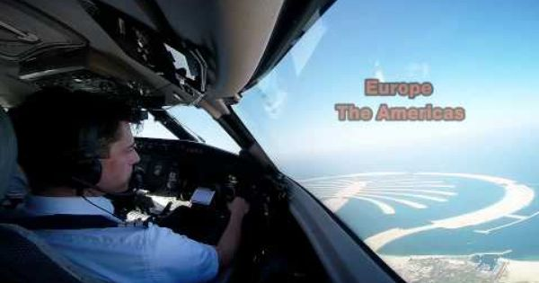Amazing Cockpit Views Video Trailer Takeoffs Approaches And