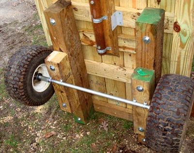 Homemade Garden Cart | Homemade Utility Cart | Pinterest | Garden cart, Homemade and Gardens