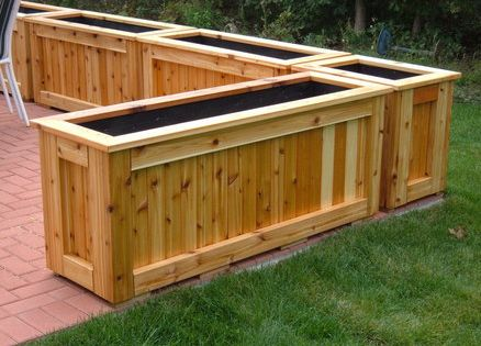 patio garden planter - Patio Garden Planter -- Good For Small Spaces, Easy On The Back