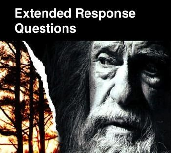 The Giver Extended Response Questions Pre Reading Activities