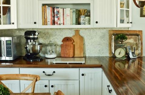 My Favorite - love the wooden counter tops!!! 10 Ways to Add