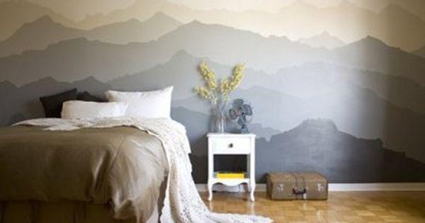 Te gustar a aprender decorar la pared de tu habitaci n - Aprender a pintar paredes ...