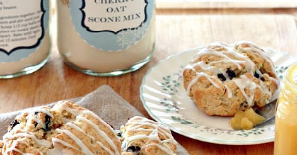 how to make a scone mix gift