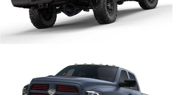 "Dodge Ram 1500 – ""Man of Steel"" Edition, the Superman logos make"