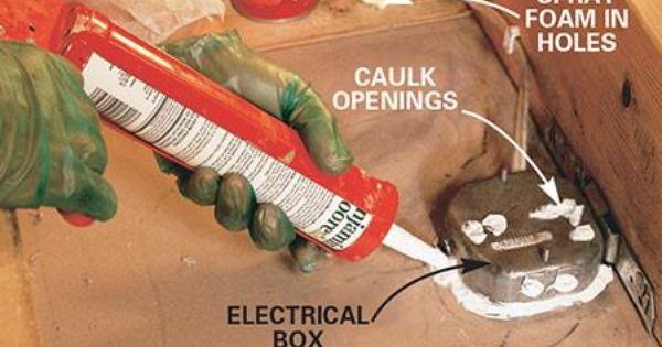 How To Seal Attic Air Leaks Attic Save Energy Spray Foam