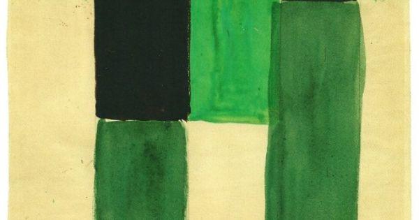 Shades of green, Sonia Delaunay.