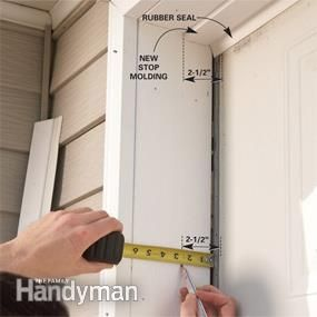 Fixing Garage Doors Diy Garage Door Garage Door Insulation Garage Door Trim