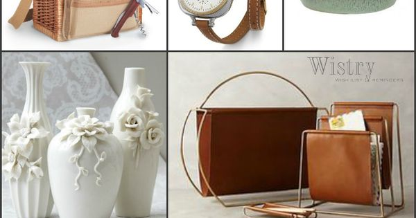 9th Wedding Anniversary Gift Leather: Traditional: Willow & Pottery