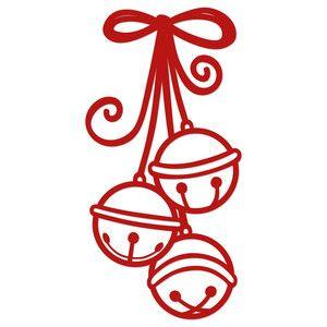 Silhouette Design Store View Design 163660 Jingle Bells Christmas Stencils Silhouette Christmas Design Store