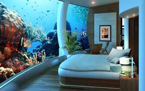 Underwater Hotel in Dubai. Added to my bucket list!!