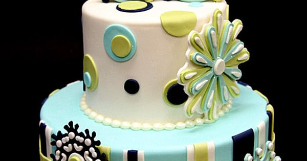 30th Birthday Snowflake Cake by Pink Cake Box in Denville, NJ. More