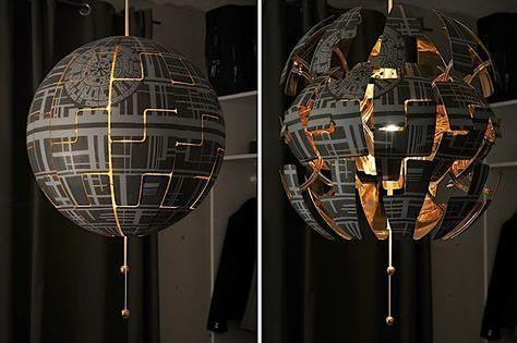 Lylelo gestaltet eine IKEA Lampe in den Todesstern um (mit