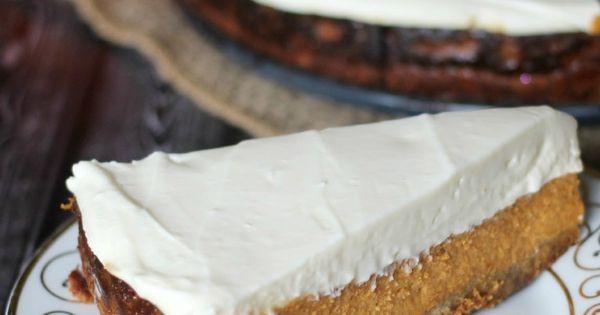 Maple Pumpkin Cheesecake Pie | Recipe | Cheesecake Pie, Pumpkin ...