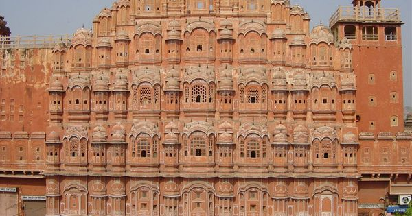 Hawa Mahal, Jaipur, India - Part of the Hill Forts of Rajasthan,